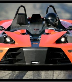 KTM X-Bow 3 omgange high speed